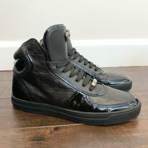 Versace Black Sneakers - Size 10 US/ 42.5 EU